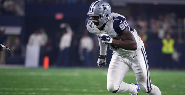 Image result for demarcus lawrence sacks in 2015