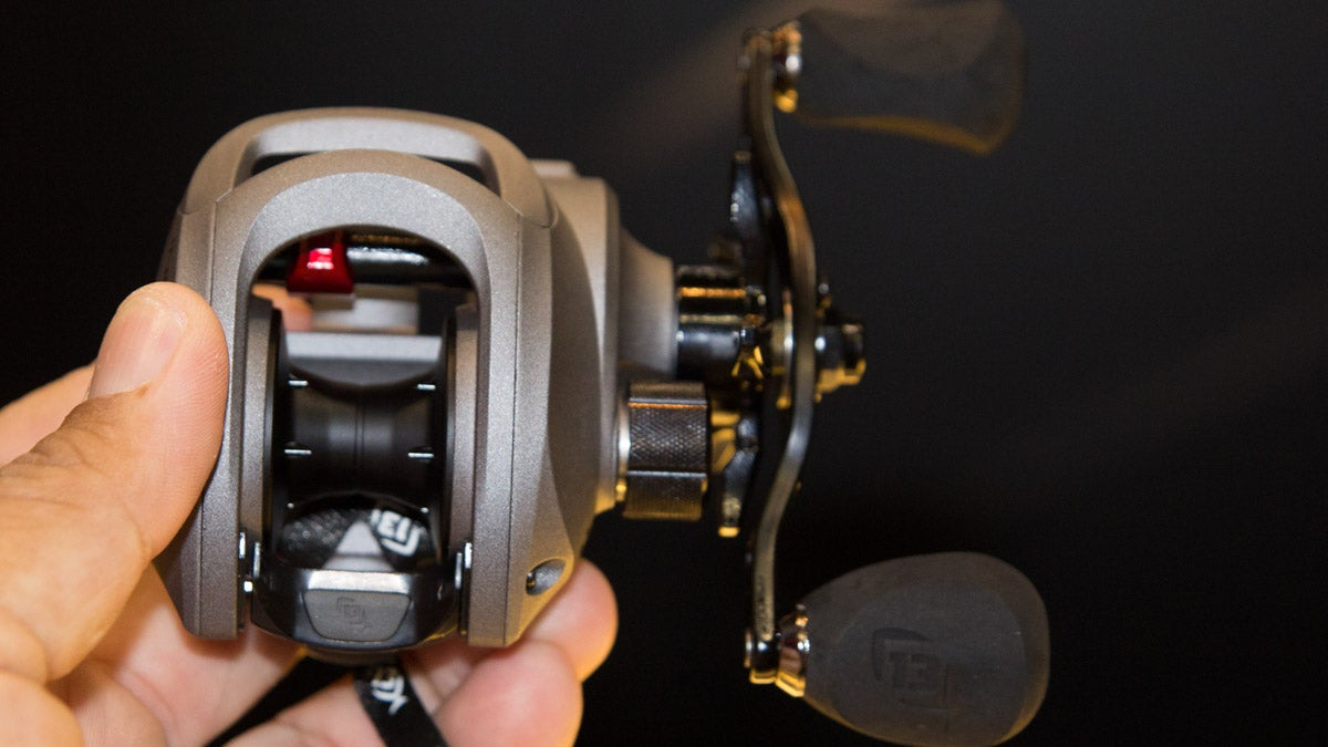 New fishing reels for 2016 icast for Best fishing line for bass baitcaster