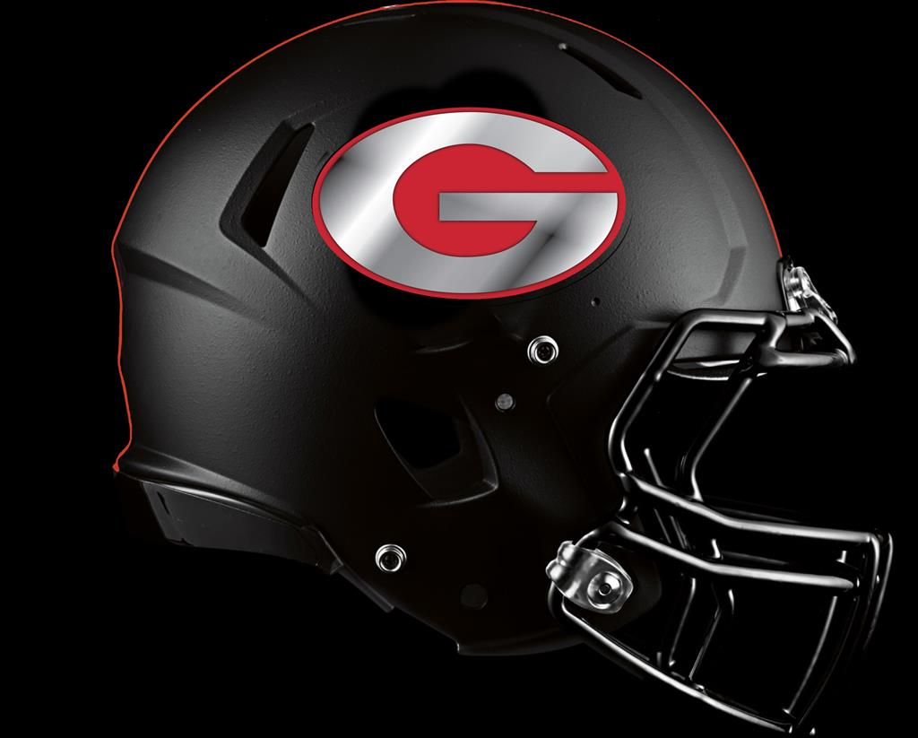 georgia bulldog helmets matte black and red g helmet jpg 4156