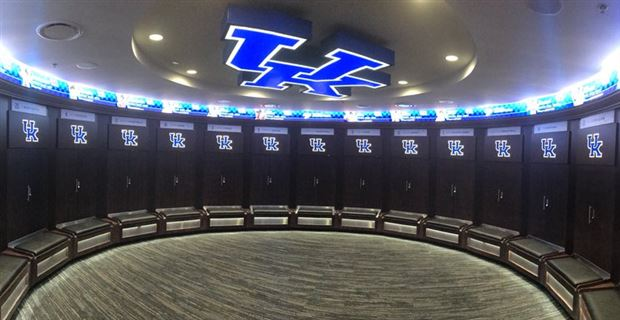Newly Renovated Uk Basketball Locker Room Nearing Completion