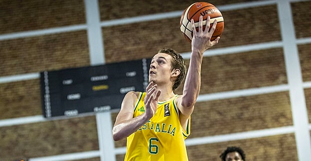 Watch Uvas Kody Stattmann Throws Down The Ally Oop Vs Latvia