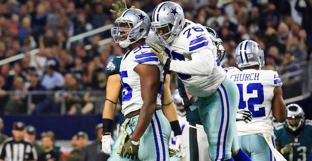 6132703ef67 Dallas Cowboys injury updates: Bryant, Church, Irving, Street
