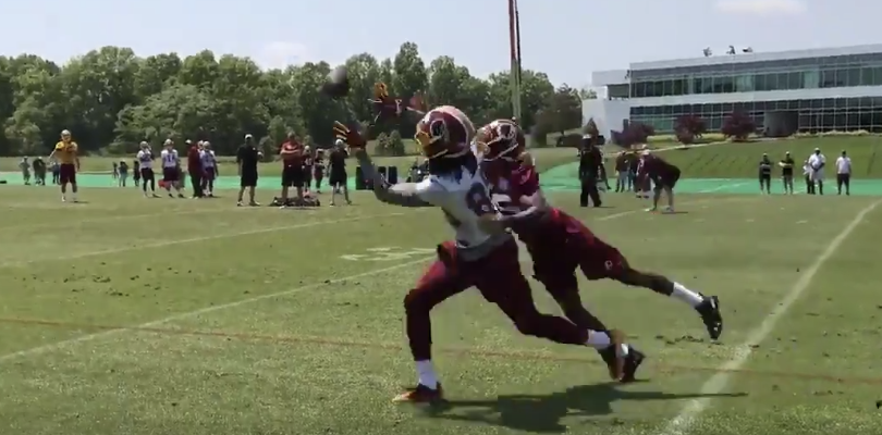The best moments from Redskins rookie camp