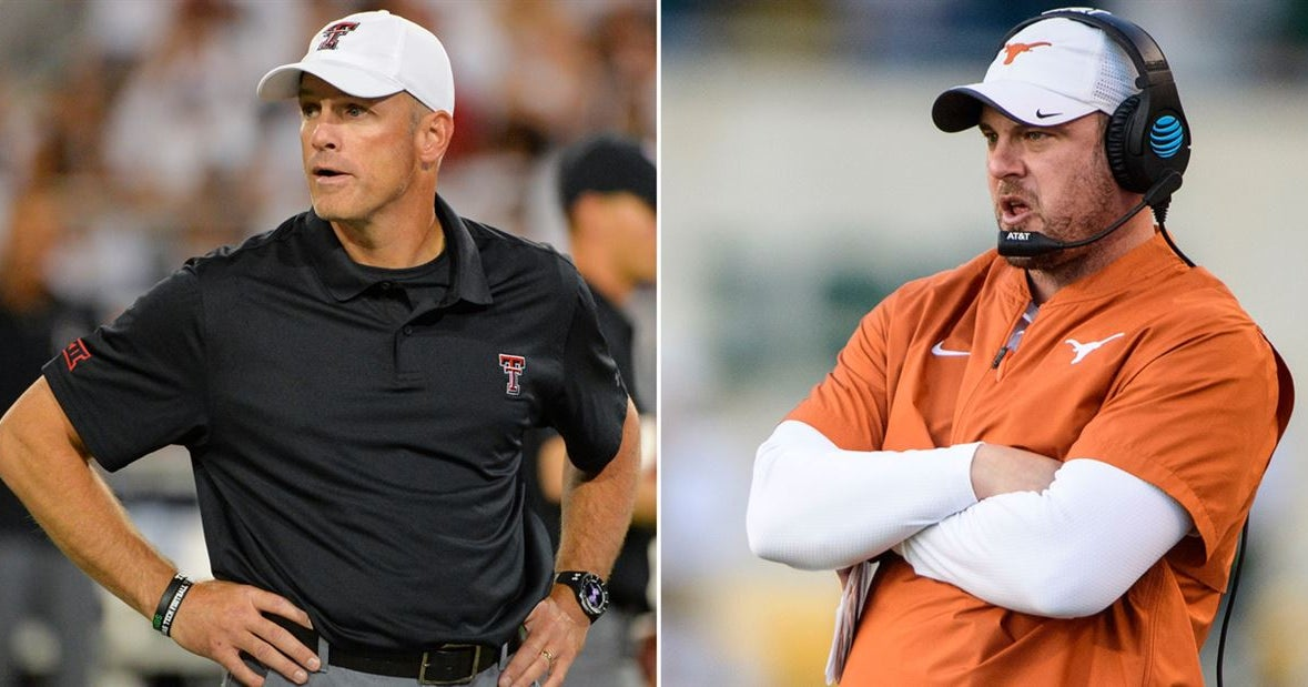 What time is Texas vs. Texas Tech?