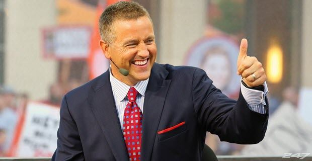 cbs college football odds espn gameday