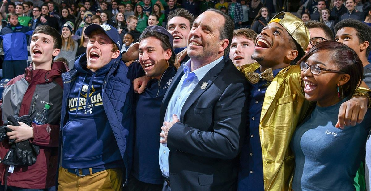 Notre Dame extends Brey through 2024-25