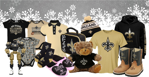New Orleans Saints Holiday Gift Guide