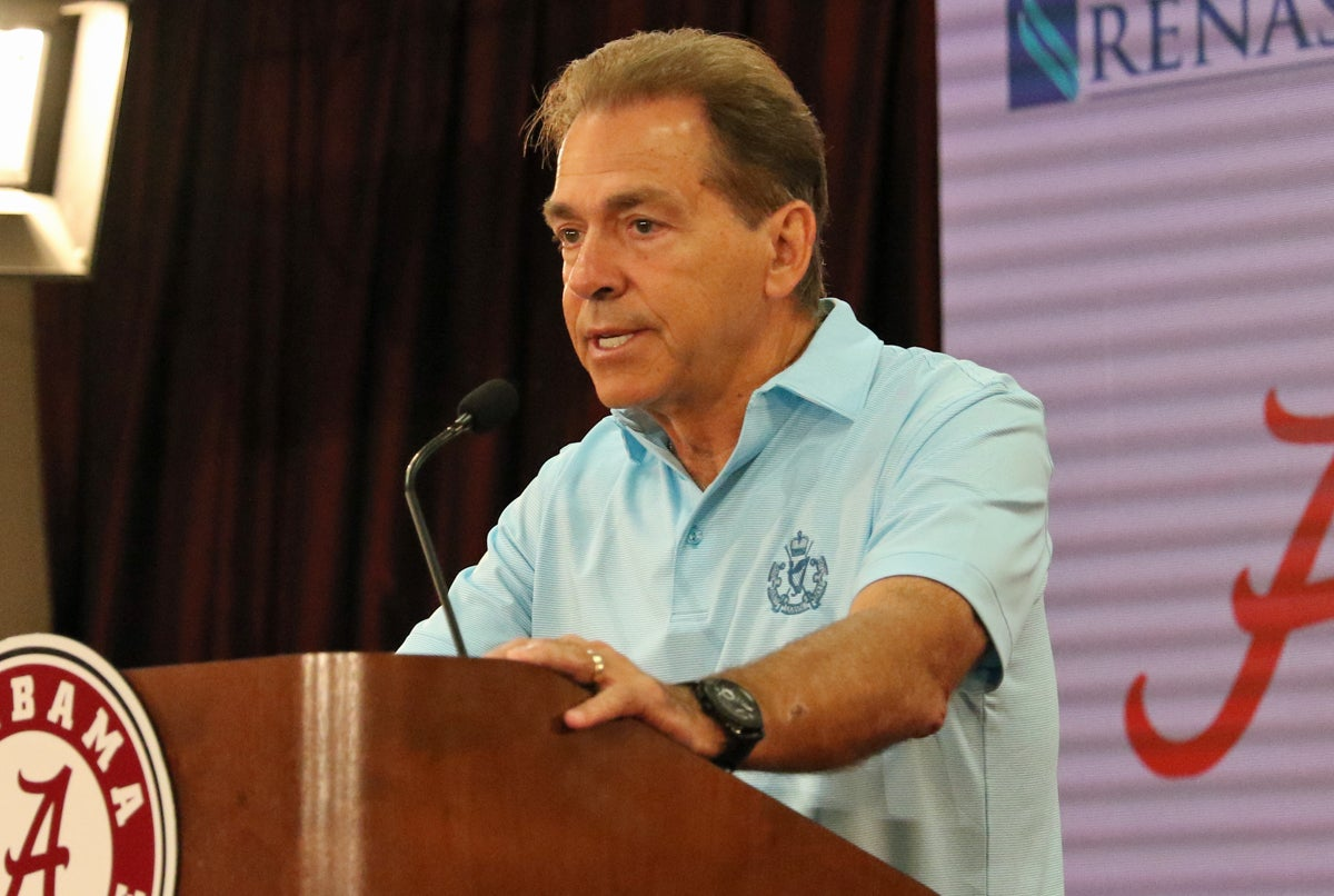 What Nick Saban said about Alabama's QBs, team at Media Day