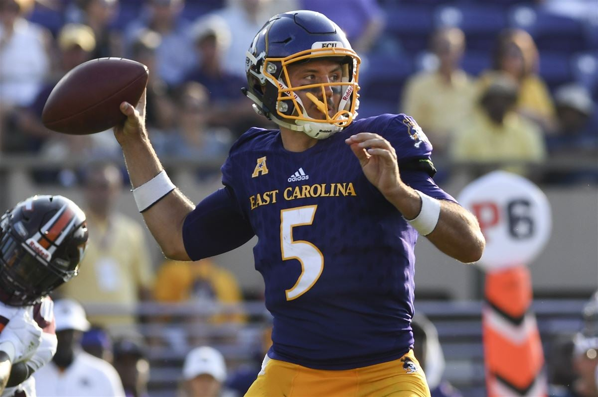 best authentic c3ea3 e0a1b Gardner Minshew once tried to purposely break his hand at ECU