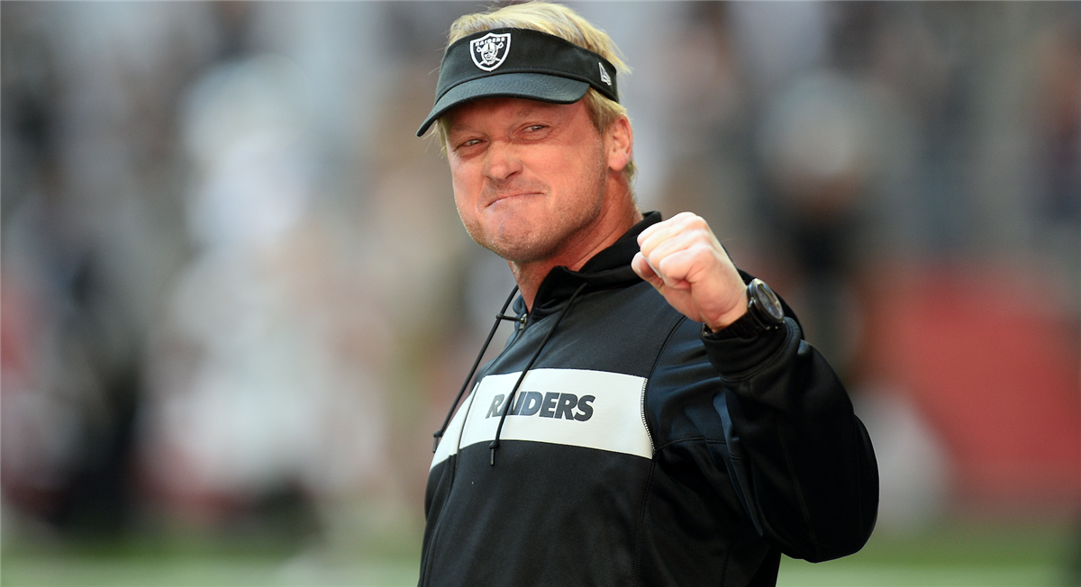 Jon Gruden wants to crush dreams with the Oakland Raiders