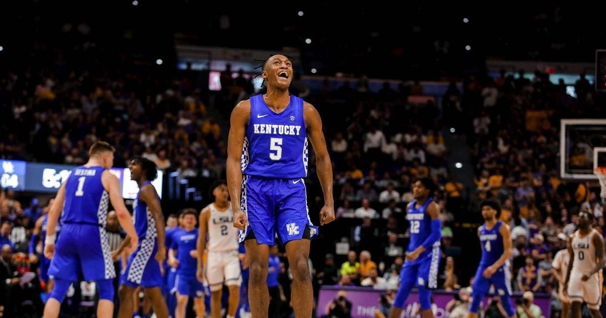 Kentucky takes 2-game lead in SEC race