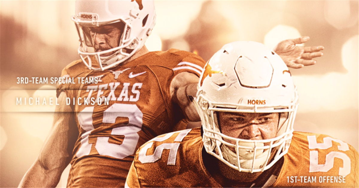 Texas' Williams, Dickson named to Athlon All-American squad Horns247