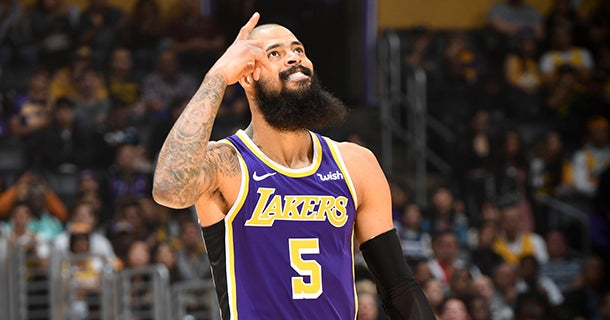 d3116f3f3c3 NBA media reacts to Tyson Chandler s first game with Lakers
