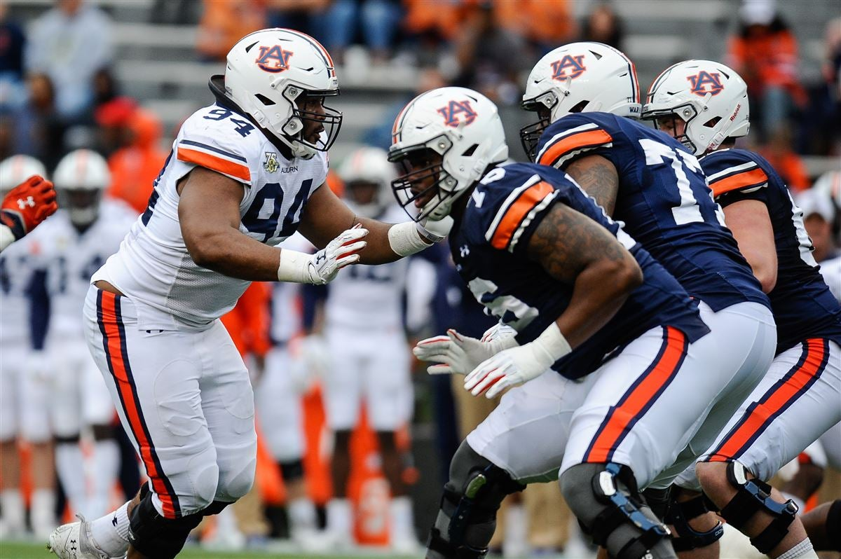 2018 Auburn Football Roster Update Weight Gains And Losses