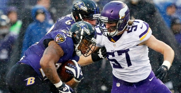 Minnesota Vikings LB Audie Cole Comes To Terms With Ankle Injury - Audie cole
