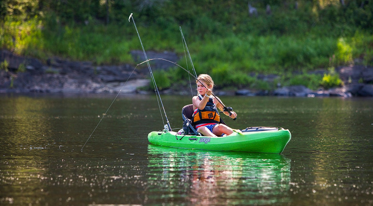 Kids and kayak fishing the parents guide for Best fishing rod for kids