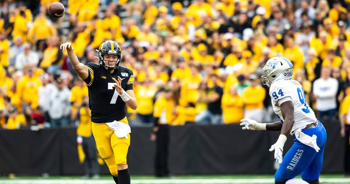Iowa Hawkeyes College Football, College Basketball and Recruiting on 247Sports - cover