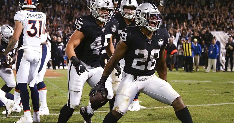 Josh Jacobs reacts to stellar NFL debut