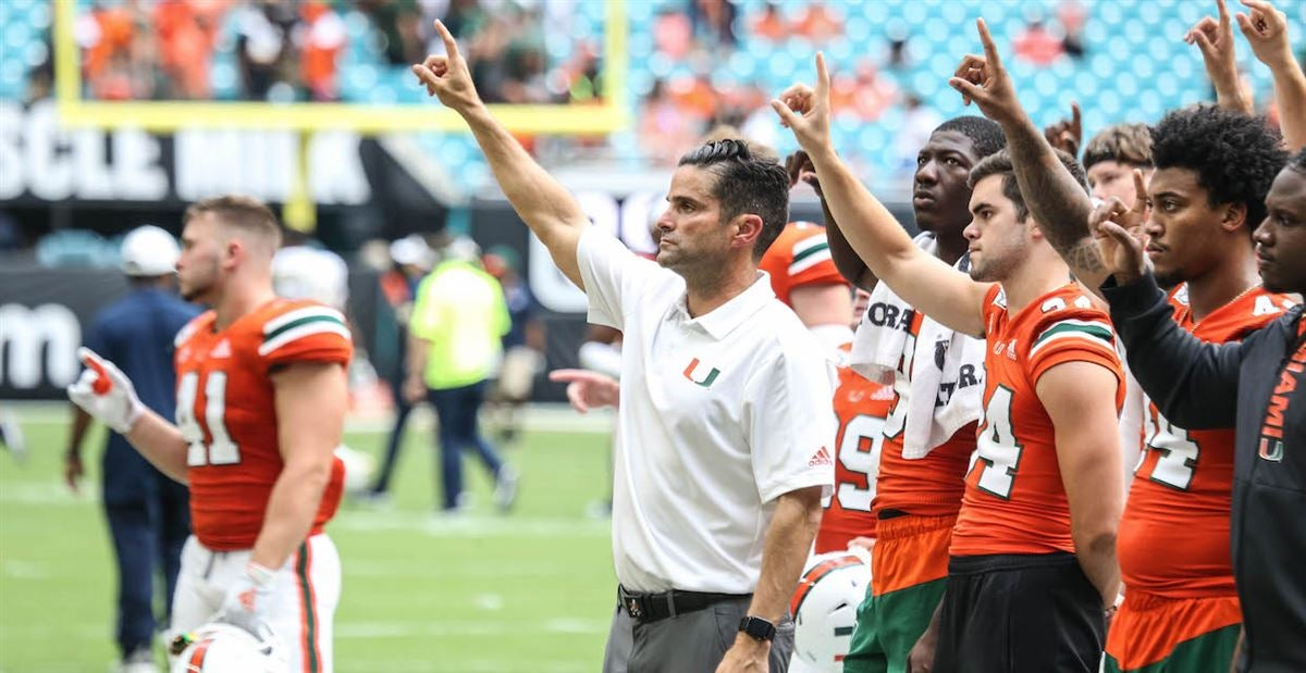 A look at what ESPN projects for Miami's final two games