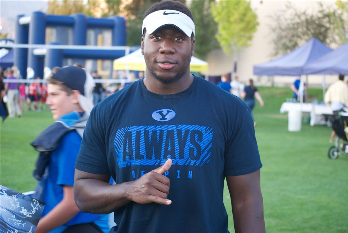 BYU Fall Camp: Q&A with TE JJ Nwigwe