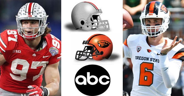 6a586364147 Game Data: Ohio State welcomes Oregon State for season opener