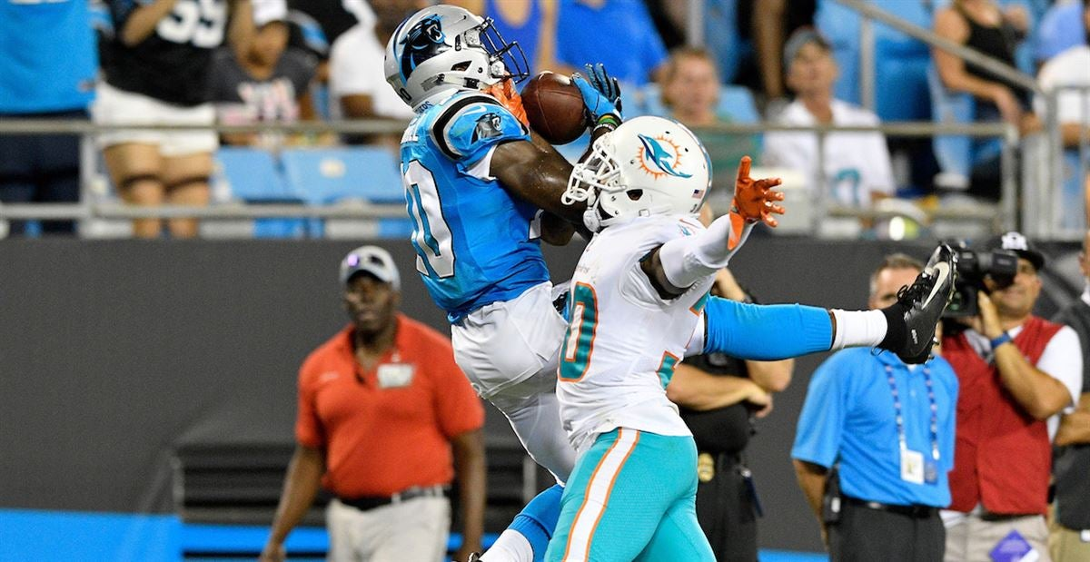 Watch: Curtis Samuel makes acrobatic catch for Panthers