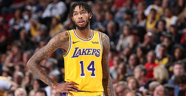 Los Angeles Lakers Starting Lineup Vs Atlanta Hawks