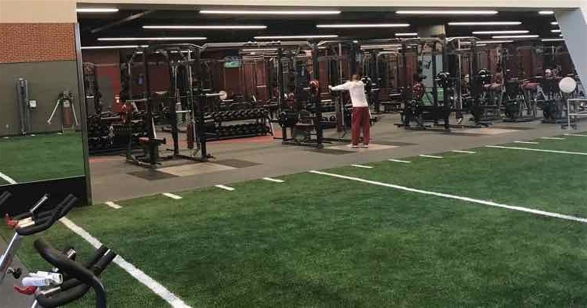 A look inside ou s new weight room gallery slides