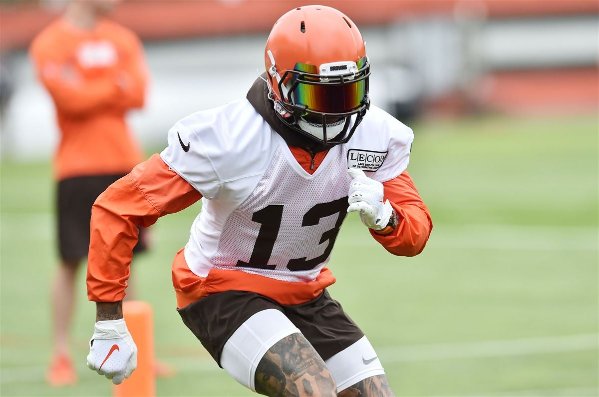 Odell Beckham Jr Catching Up At Browns Mandatory Minicamp