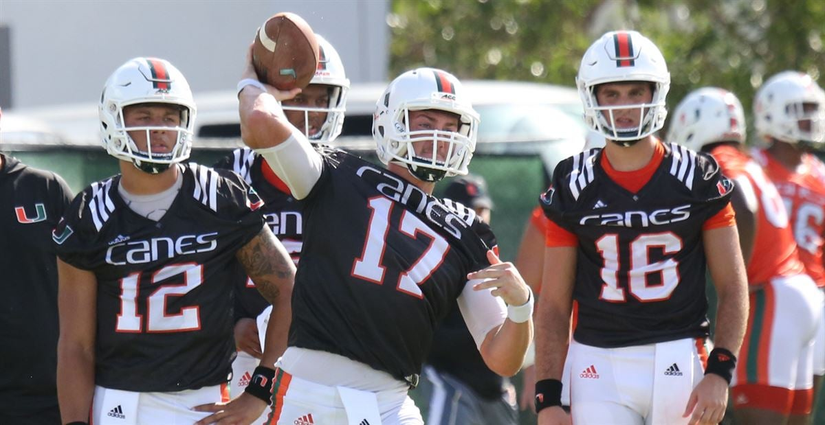 Richt Pleased With The Development Of UM's Young Quarterbacks
