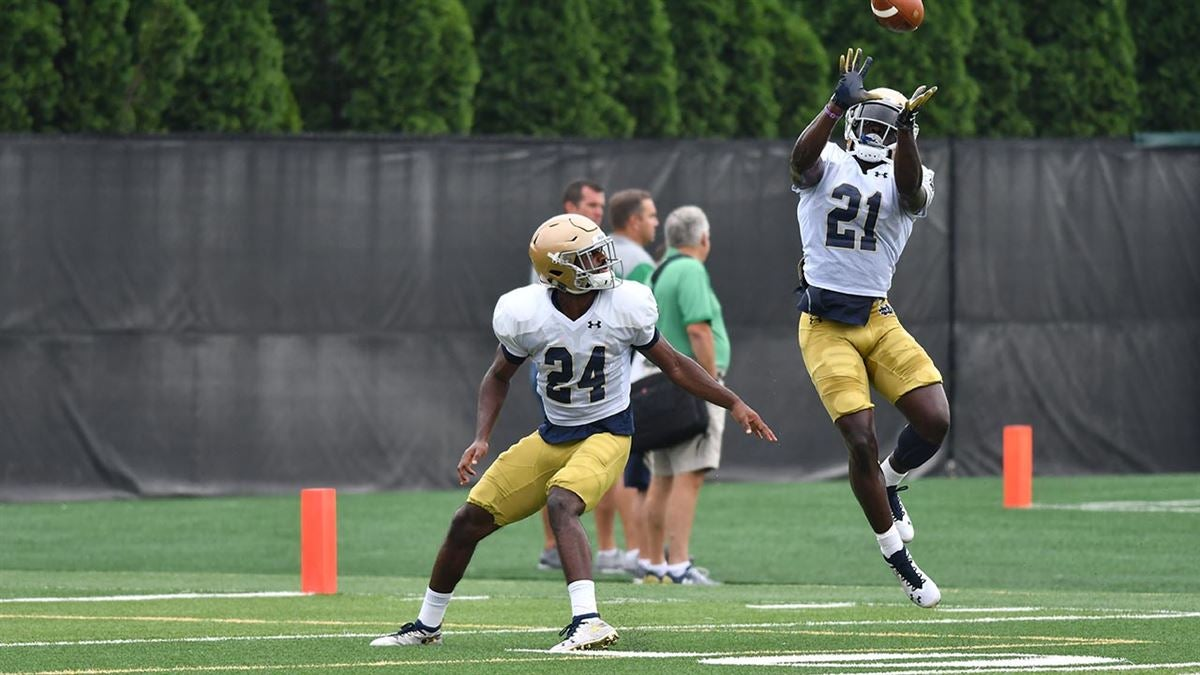 Practice Report: Notre Dame Defense (Aug. 15)