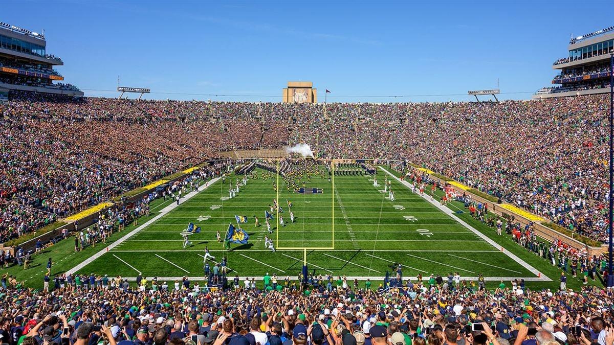 Audio: Fighting Irish Preview No. 23 Navy At No. 16 Notre Dame