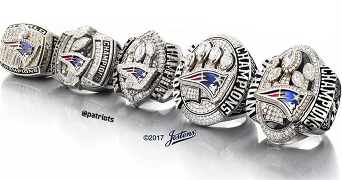 Super Bowl Rings On Player
