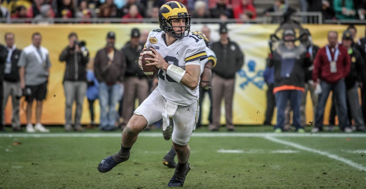 Brandon Peters 'not worried' about Shea Patterson's arrival