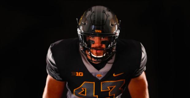 Photos: Iowa reveals alternate uniforms for Ohio State