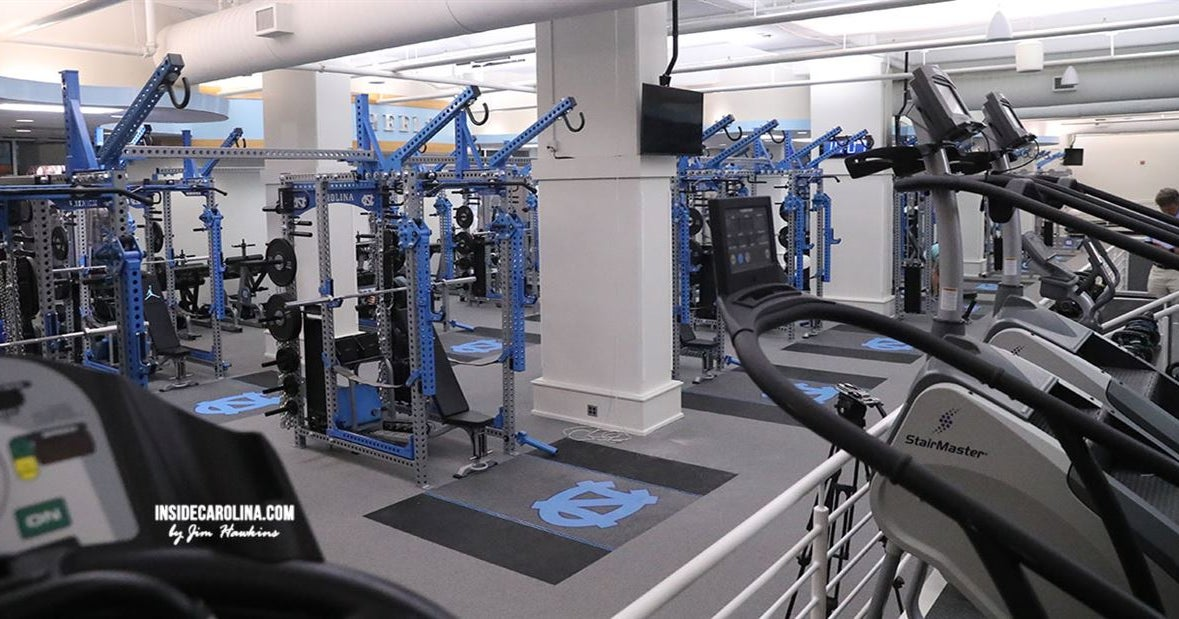 UNC Football Facility Tour