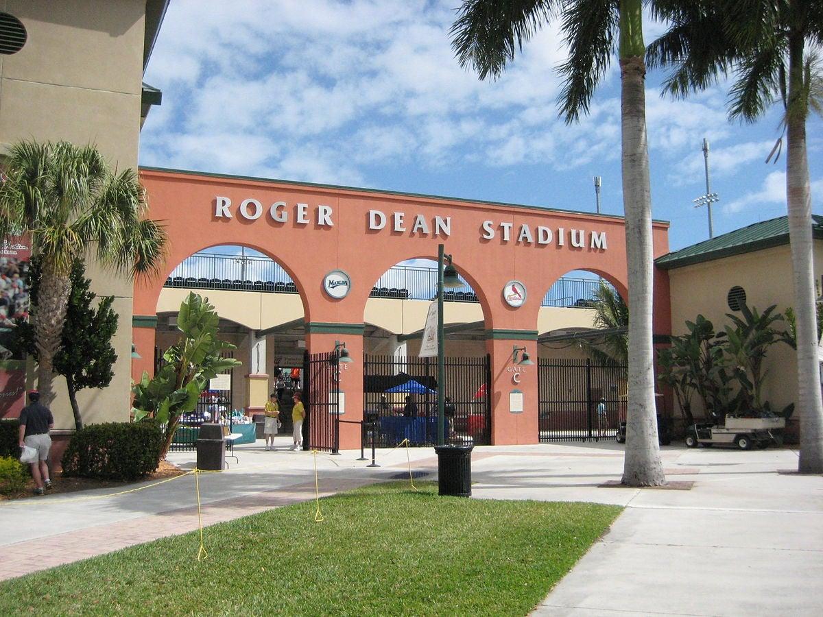 Roger Dean Stadium Now Roger Dean Chevrolet Stadium
