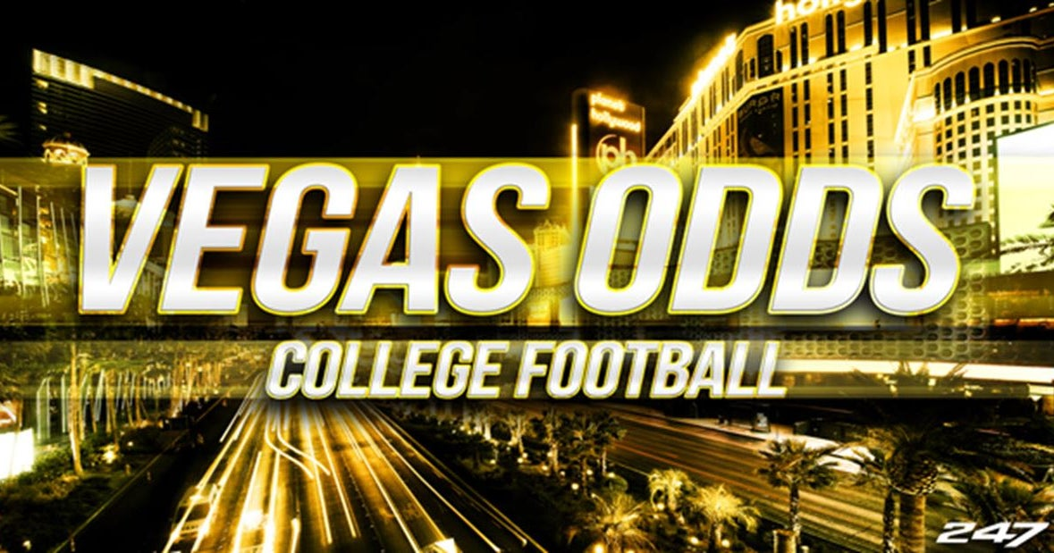 College football's latest Week 1 betting lines