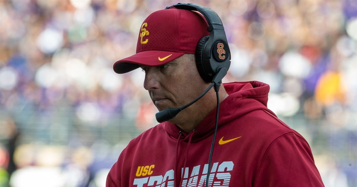 Clay Helton reflects on recent struggles at USC