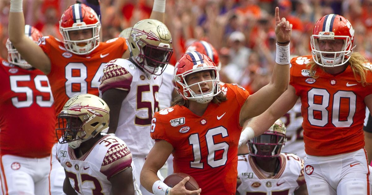 Clemson players discuss win over Florida State