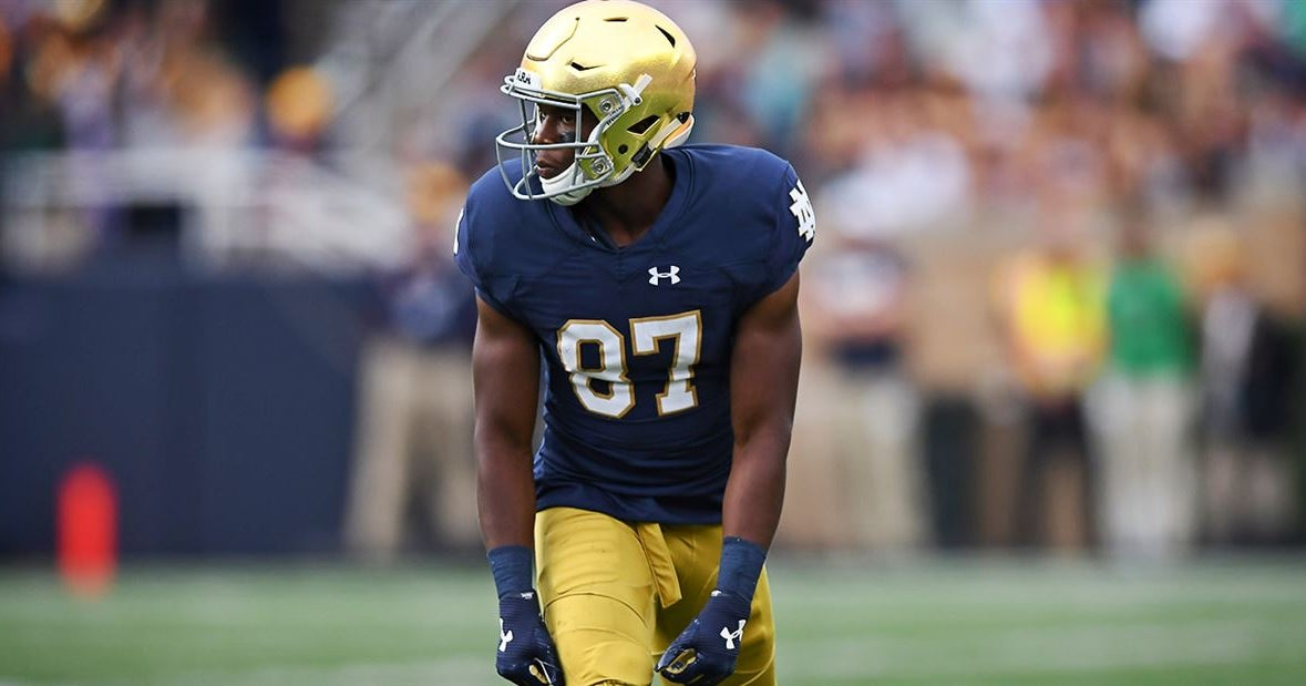BREAKING: Notre Dame WR Michael Young enters the Transfer Portal