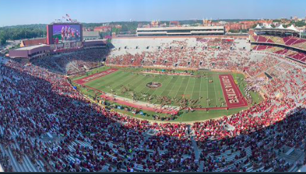 Florida State plays in font of smallest home crowd since 1983