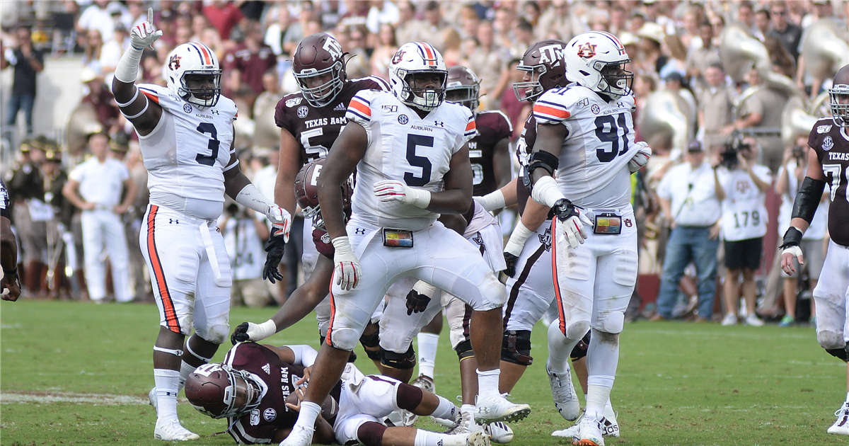 Auburn bowl projections after Week 7