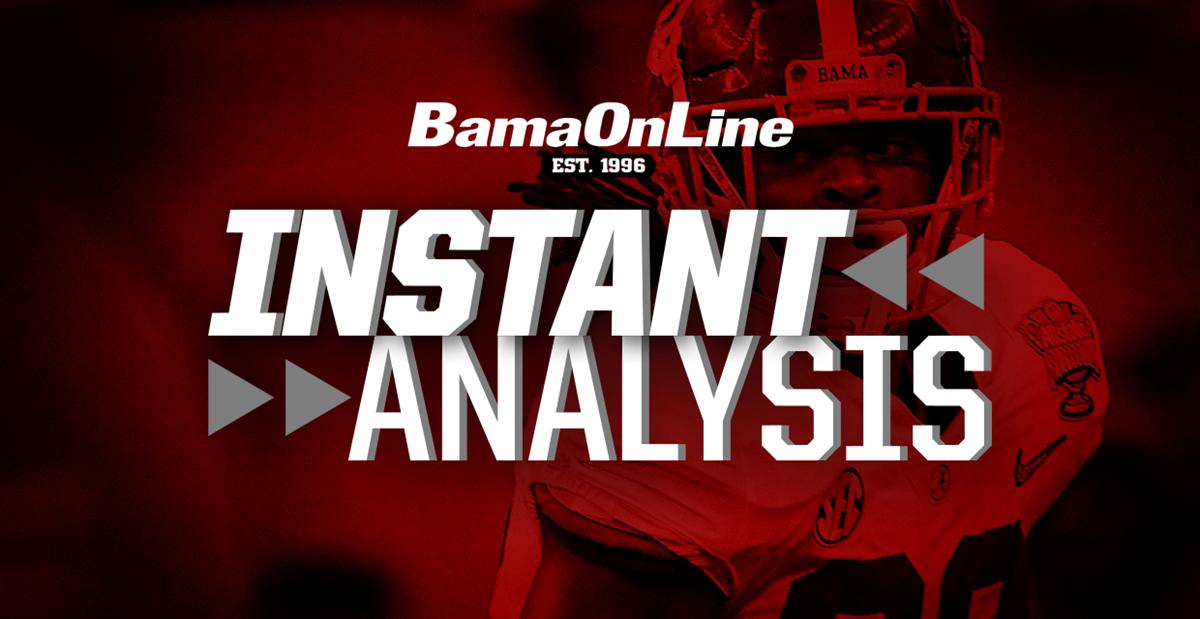 Instant Analysis: Monday