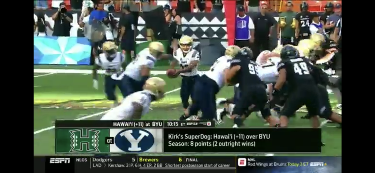 Espn S Kirk Herbstreit Picks Byu V Hawaii As His Superdog Pick