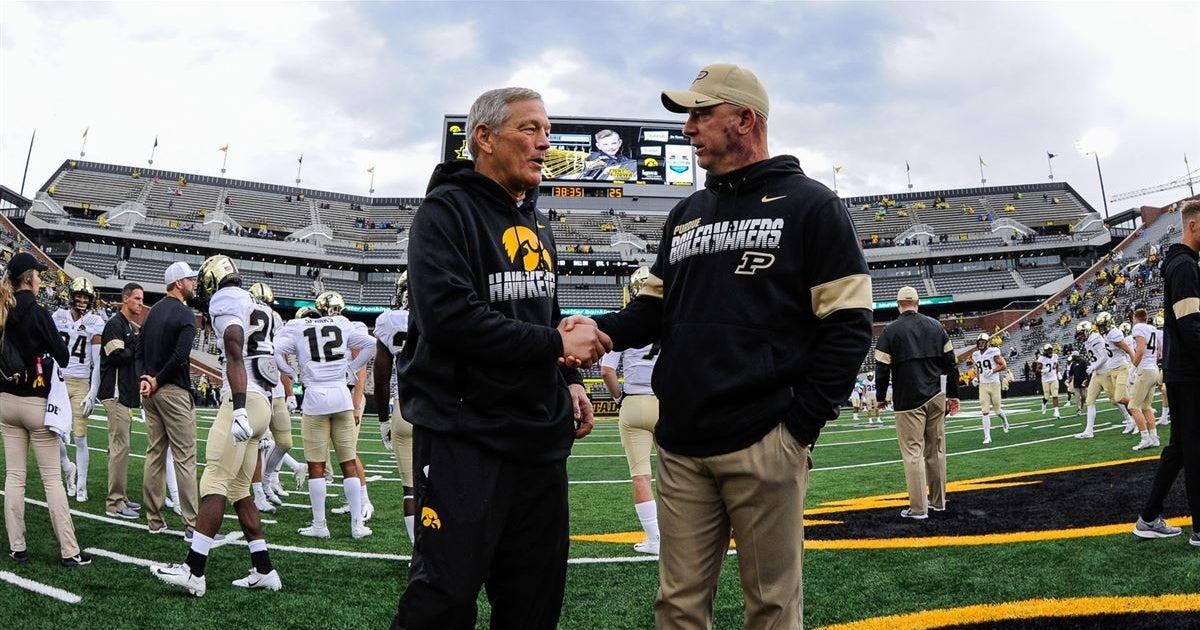 William Hill: Iowa opens as favorites over Purdue