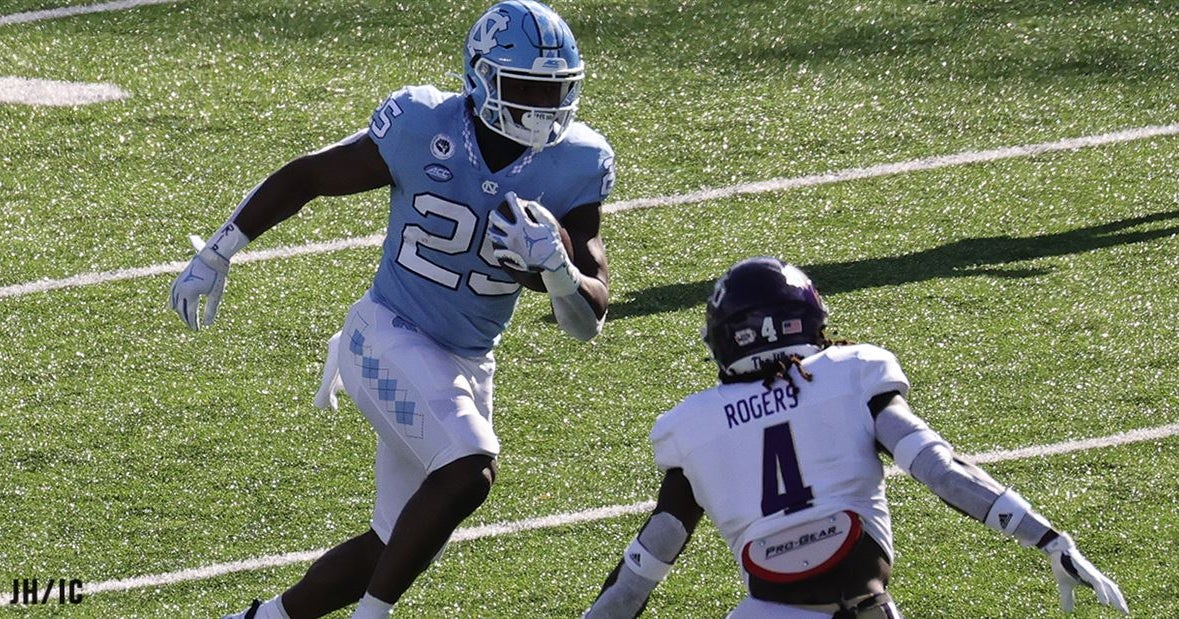 PFF Ranks UNC's Javonte Williams the 6th Best Player in College Football