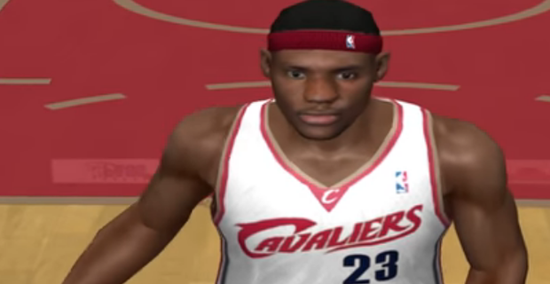 Every LeBron James NBA 2K rating since 2003