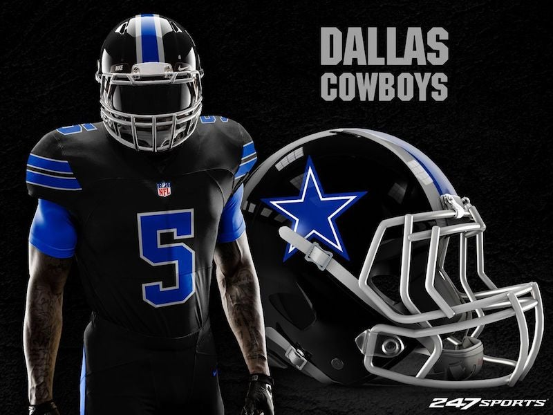 f62cc4990bf Blackout Uniforms For Every NFL Team