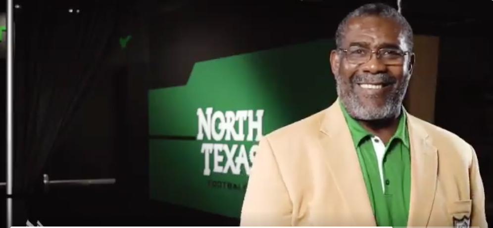 25b4cd4c371 Joe Greene tosses another jersey in new North Texas commercial